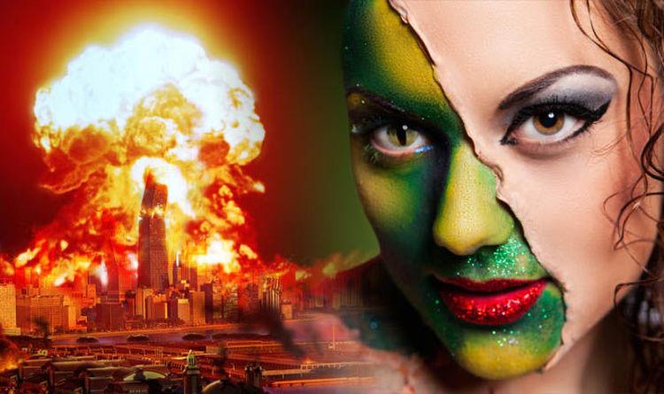 World War 3 WARNING: Bizarre claim 'Reptilian aliens' set