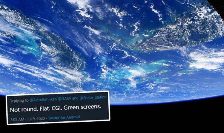 Flat Earth fiasco: Truthers rally as NASA astronaut snaps ...